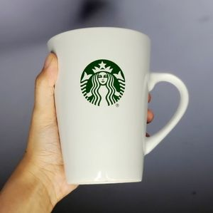 Starbucks Large White Mug